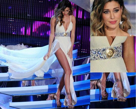 Belen-sanremo-2012-look-bianco